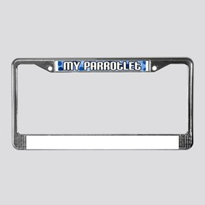 featheredkid_parrotlet License Plate Frame