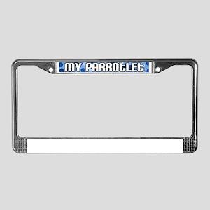 featheredkid_parrotlet License Plate Frame