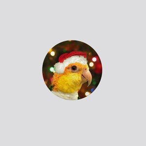 christmas_caique_ornament Mini Button