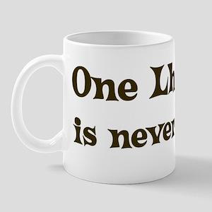 One Lhasapoo Mug