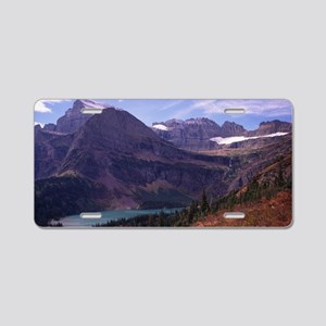 Glacier National Park Aluminum License Plate