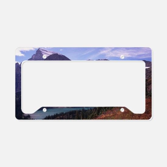 Glacier National Park License Plate Holder