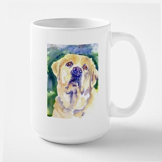 Yellow Lab-watercolor Mug