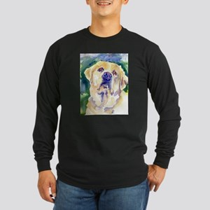 Yellow Lab-watercolor Long Sleeve T-Shirt