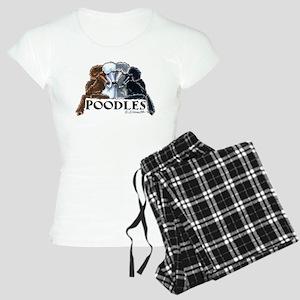 Poodles Women's Light Pajamas