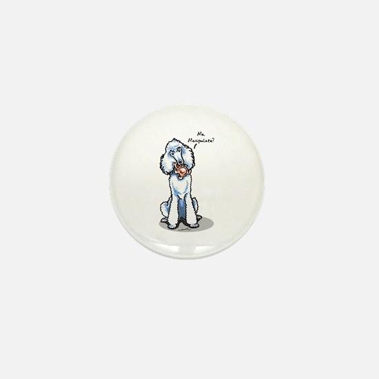 Std Poodle Manipulate Mini Button