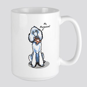 Std Poodle Manipulate Large Mug