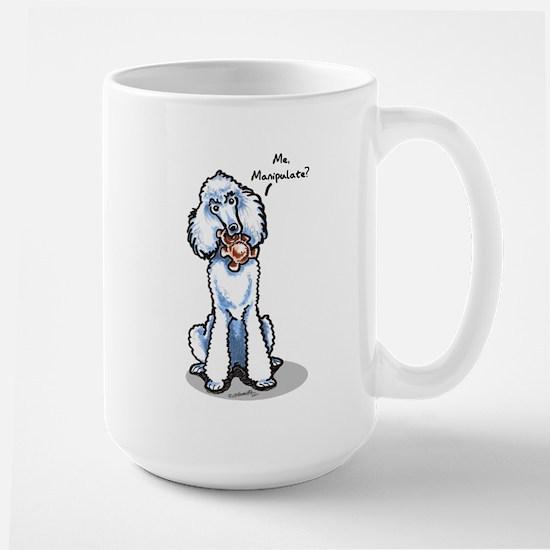 Std Poodle Manipulate Large Mug