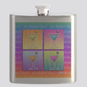 POP ART MARTINIS Flask