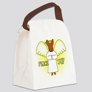 peacejoy_ibizan2 Canvas Lunch Bag