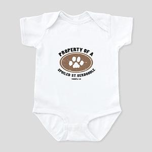 St. Berdoodle dog Infant Bodysuit