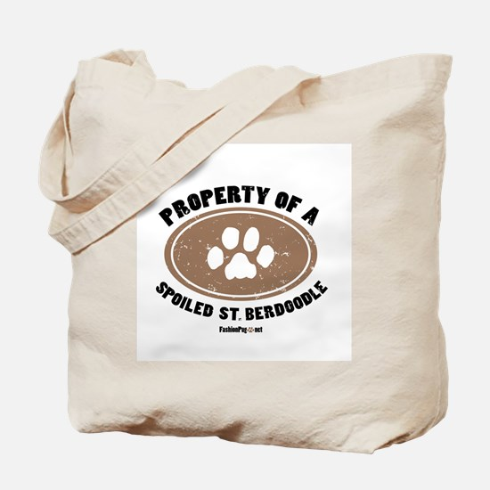 St. Berdoodle dog Tote Bag
