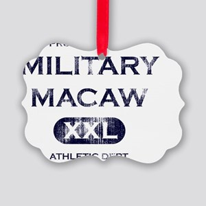 militarymacaw_propertyof Picture Ornament
