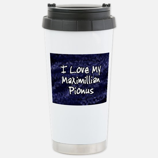 maxipi_funklove_oval Stainless Steel Travel Mug