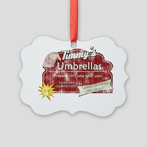 timmysumbrellas Picture Ornament