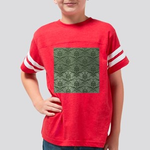 Two Toned Damask - Treetop Youth Football Shirt
