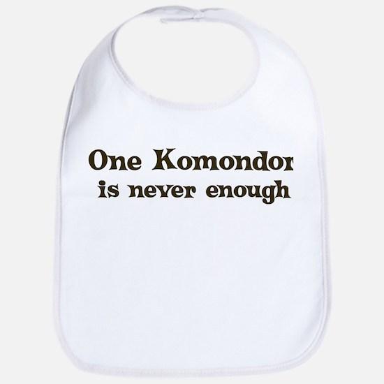 One Komondor Bib