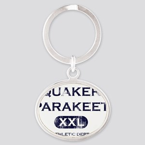 quaker_propertyof Oval Keychain