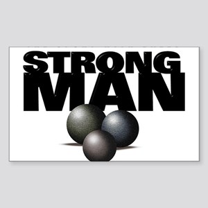 STRONGMAN Sticker (Rect.)