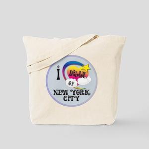 I Dream of New York City Tote Bag
