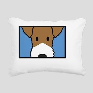 fox_wire_anime_blk Rectangular Canvas Pillow