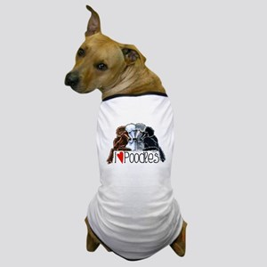 Love Poodles Dog T-Shirt