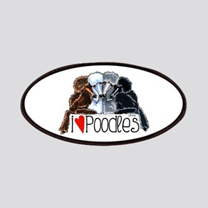Love Poodles Patches