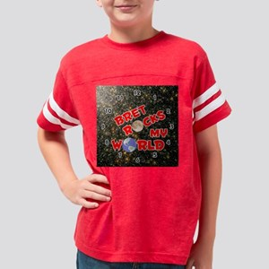 1002SR-Bret Youth Football Shirt