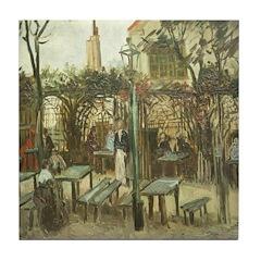 Montmartre Tile Coaster