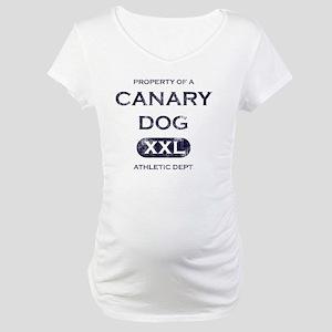 canary_propertyof Maternity T-Shirt