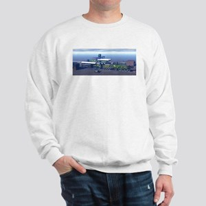 The Flying Scotsman 1 cutaway 1 normal Sweatshirt