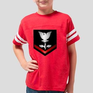 navy_e4_aerographer_clothing Youth Football Shirt
