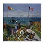 Jardin Sainte Adresse Tile Coaster