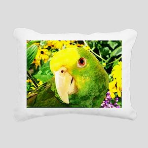 gonzo_garden_card Rectangular Canvas Pillow