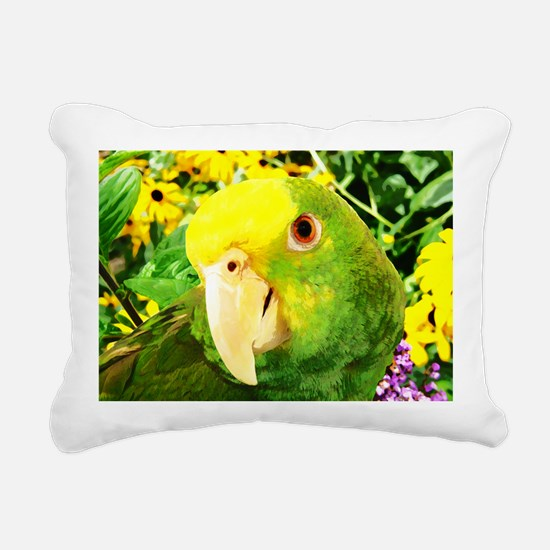 gonzo_garden_card Rectangular Canvas Pillow