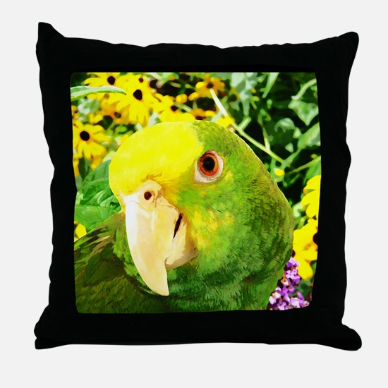 gonzo_garden_poster Throw Pillow