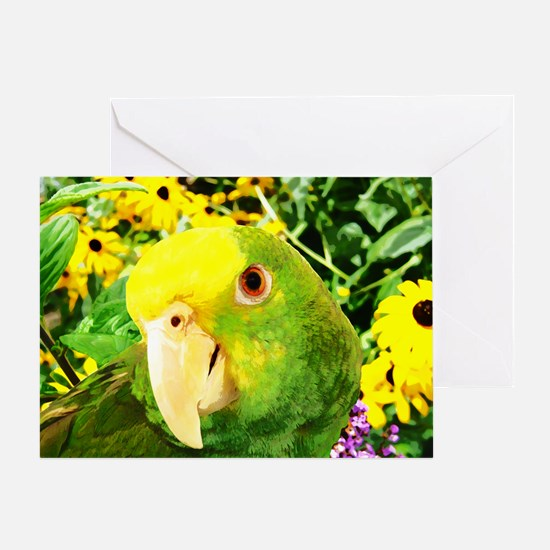 gonzo_garden_poster Greeting Card
