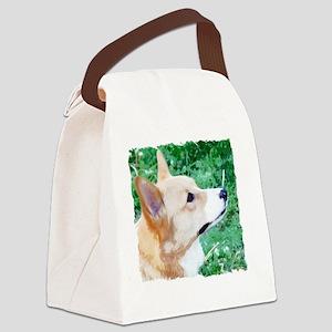 merlin_side_tshirt Canvas Lunch Bag