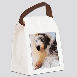 roofus_sleepy_poster Canvas Lunch Bag