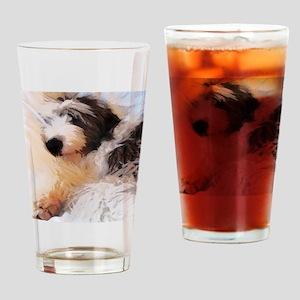 roofus_sleepy_poster Drinking Glass