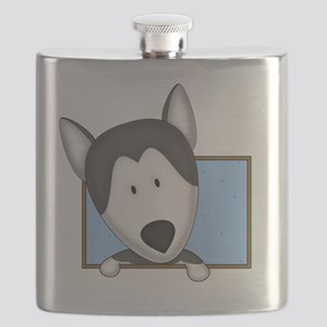 siberianhusky_drawing Flask