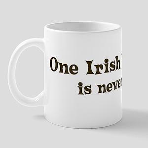One Irish Wolfhound Mug