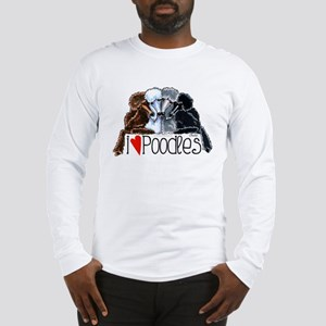 Love Poodles Long Sleeve T-Shirt