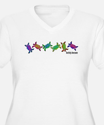 Turtlely Awesome Plus Size T-Shirt