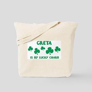 Greta is my lucky charm Tote Bag