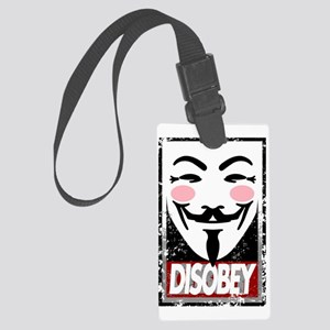 Disobey Large Luggage Tag