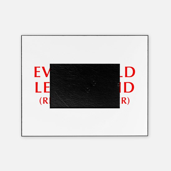 every-child-left-behind-OPT-RED Picture Frame