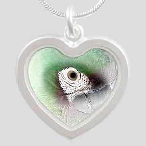havoc_photo_sketch_tile Silver Heart Necklace