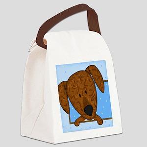 cartoon_plott_tile Canvas Lunch Bag