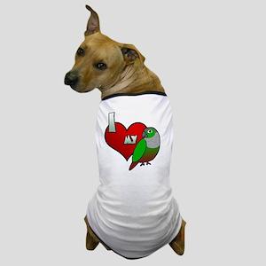 iheartmy_greencheekedconure Dog T-Shirt